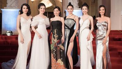 Các nàng hậu đua nhau 'tỏa sắc' trên thảm đỏ Lễ trao giải Cống hiến lần thứ 14
