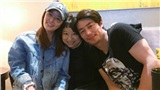 Lâm Tâm Như tự nhận là 'người vợ hạnh phúc' khi đến phim trường thăm Hoắc Kiến Hoa