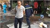 Hà Nội: Cháy quán massage, nhiều người hốt hoảng bỏ chạy