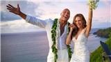 The Rock chính thức 'theo vợ bỏ cuộc chơi' với đám cưới lãng mạn tại Hawaii!