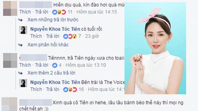 Khoe ảnh hiền dịu, Tóc Tiên nhận lại tràng bình luận 'chọc quê'