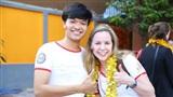 Sinh viên Hoa Kỳ học tập văn hóa Việt Nam và nói tiếng Việt siêu 'cute'