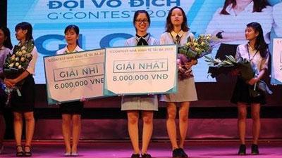 Chung kết G'Contest - Nhà kinh tế tài ba 2017