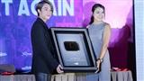 Sơn Tùng M-TP nhận nút vàng Youtube