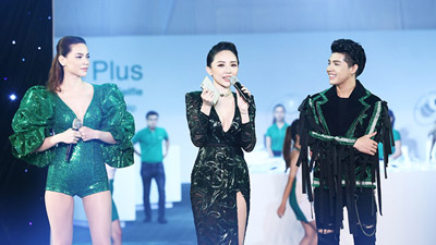 Hồ Ngọc Hà, Noo Phước Thịnh, Tóc Tiên 'đốt cháy' khán giả khi đứng chung sân khấu