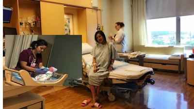 Tiểu công chúa thứ 2 nhà Vy Oanh đã được hạ sinh tại Mỹ