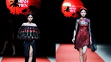 Quán quân Kim Dung, Á hậu Thanh Tú thay nhau làm vedette tại Tuần lễ thời trang Xuân Hè
