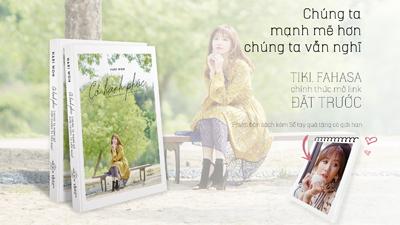 Hari Won ra mắt tự truyện dựa trên nhật ký cá nhân