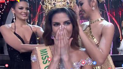 Đúng như dự đoán, Hoa hậu Peru đăng quangHoa hậu Hòa Bình Thế giới2017