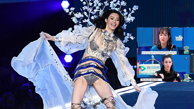 Ming Xi từng tuyên bố sẽ giải nghệ nếu ngã trên sàn diễn Victoria's Secret
