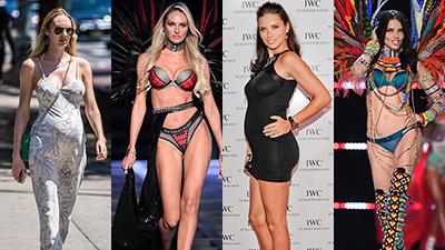 10 siêu mẫu Victoria's Secret sau sinh con, dáng càng thon