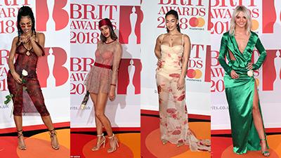 Những trang phục thảm họa trên thảm đỏ lễ trao giải Brit Awards
