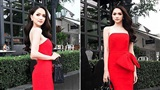 Mê mệt trước phong cách thời trang 'đỏ rực' của Hương Giang Idol