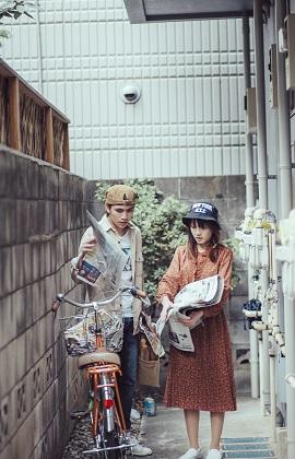 Bộ ảnh siêu lãng mạn tại Nhật của cặp đôi du học sinh