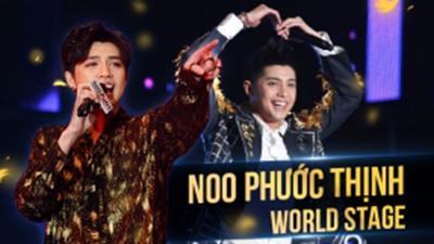 5 lần 7 lượt, Noo Phước Thịnh đã 'đốt cháy' sân khấu quốc tế thế này