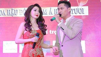 Hậu chia tay Lan Ngọc, Minh Luân tình tứ song ca cùng Hoa hậu Đông Nam Á