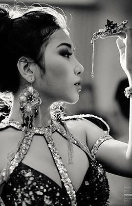 Hoa hậu Nhân ái Châu Á 2017 khoe vẻ đẹp quyến rũ, lấp ló đôi gò bồng đảo