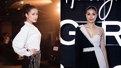 Dàn mỹ nhân gợi cảm 'đốt cháy' thảm đỏ show thời trang của Phạm Hương