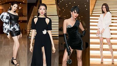 Dàn mỹ nhân Việt cùng đọ sắc trên thảm đỏ sự kiện thời trang