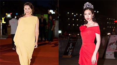 Dàn mỹ nhân Việt đọ sắc trên thảm đỏ Chung khảo phía Bắc Hoa Hậu Việt Nam 2018