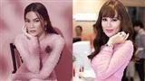 Cùng một bộ váy hiệu, Hồ Ngọc Hà và Hoa hậu Phương Lê, ai hơn ai?