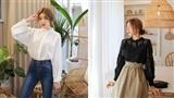 Tủ đồ mùa thu của các nàng sao có thể thiếu 4 mẫu áo blouse tay dài điệu đà, tuyệt xinh này