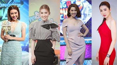 Phong cách thời trang ấn tượng của 'nàng dâu đanh đá' Thúy Ngân khi tham gia gameshow