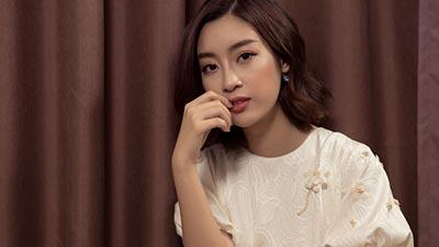 Hoa hậu Đỗ Mỹ Linh: 'Bùi Tiến Dũng không phải gu của tôi'