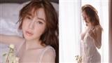 Đánh dấu màn tái xuất showbiz, Elly Trần khoe vóc dáng sexytrong trang phục mong manh