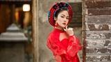 Hoa hậu Tuyết Nga khoe vóc dáng vạn người mê với áo dài sau đăng quang