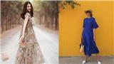 Tiện một công tung tăng diện váy xinh, loạt sao Việt 'gián tiếp' gợi ý cho các chị em những mẫu váy liền đáng sắm nhất trong hè này