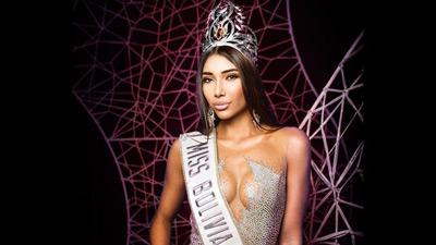 Hoa hậu Bolivia - Đối thủ của H'hen Niê bị tước vương miện vì lén lút đính hôn và mang thai