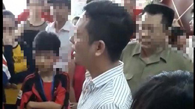 Công an xác minh thông tin người đàn ông bị tố 'sờ đùi' cô gái tại chung cư Linh Đàm