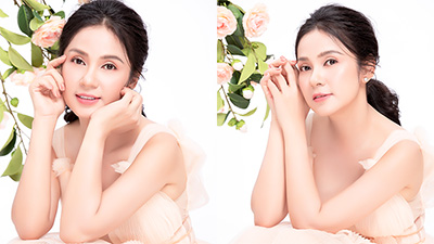 Sau khi đăng kí hiến tạng, 'Nữ hoàng ảnh lịch' Việt Trinh tái xuất với vai trò mẫu ảnh