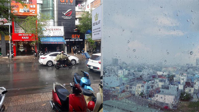 Còn hơn cả Endgame, cơn mưa bất ngờ ở Sài Gòn khiến dân tình reo hò phấn khích!