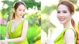 Hoa hậu Dương Kim Ánh khoe vóc dáng quyến rũ với váy cut-out
