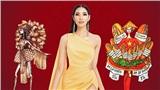 Chọi Trâu, áo dài Nhật Bình, tòa nhà 81 tầng được lấy cảm hứng để thiết kế trang phục cho Hoàng Thùy tham gia Miss Universe 2019
