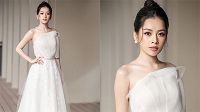 Ngắm loạt ảnh Chi Pu mặc váy cưới, xinh đẹp tựa nữ thần