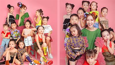 Nhật Hà hoá công chúa bên cạnh dàn 'thiên thần nhỏ' chúc mừng ngày Quốc tế Thiếu nhi