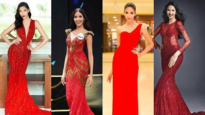 Top 10 đầm dạ hội màu đỏ đẹp nhất lịch sử Miss Universe, Hoàng Thùy tham khảo ắt sẽ 'vừa đỏ vừa thơm'