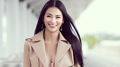Hoa hậu Phương Khánh lên đường chấm thi Miss Earth Singapore 2019