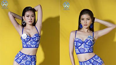 Thí sinh Miss World Việt Nam khoe dáng nóng bỏng trong bộ ảnh bikini
