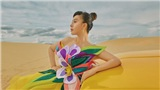 Hoa hậu Hằng Nguyễn diện lại chiếc váy từng gây chú ý bởi Nam Em