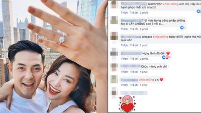 Sau 10 năm yêu, Đông Nhi nhận lời cầu hôn của Ông Cao Thắng, fan rần rần mong ngóng ngày đám cưới