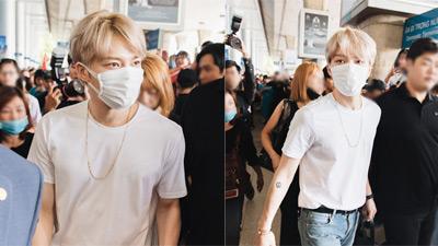 'Hoàng tử' Kim Jae Joong nổi bật giữa sân bay Tân Sơn Nhất,fan Việt hạnh phúc gặp thần tượng sau 7 năm