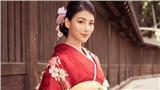 Diện kimono giá 200 triệu, Phương Khánh nổi bật tại phố Nhật Bản