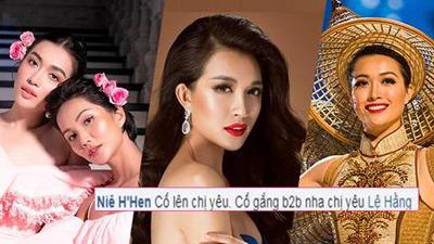 HOT: Lệ Hằng đại diện Việt Nam thi Miss Earth, H'Hen Niê chúc giật vương miện Back2Back!