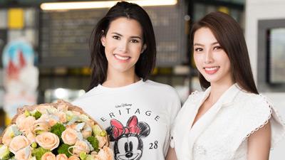 Trong khi người 'thế chỗ' Thúy An đi thi Miss International 2019 vẫn là một ẩn số thì bất ngờ Hoa hậu Quốc Tế Mariem đến Việt Nam