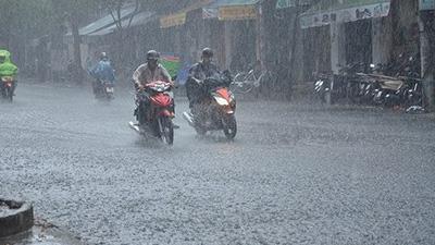 Hà Nội và hầu hết các tỉnh trong cả nước sẽ có mưa to trong suốt kỳ nghỉ lễ 2/9
