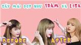 Thiều Bảo Trâm tự tay cắt tóc mái, hướng dẫn cách sấy cho bồng bềnh giống Lisa